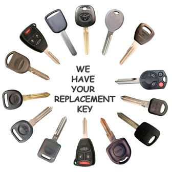 Transponder car keys - chip keys